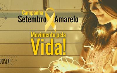 Campanha Setembro Amarelo – Movimento pela vida