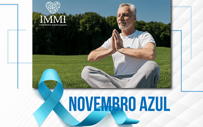 Novembro Azul: Viva bem. Viva melhor. Viva com saúde!